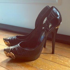 Black Lara Bohinc Stilettos